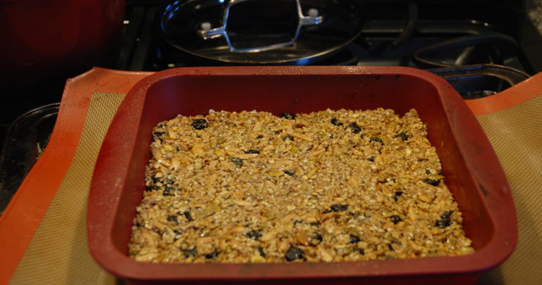 How to: Homemade Granola Bars