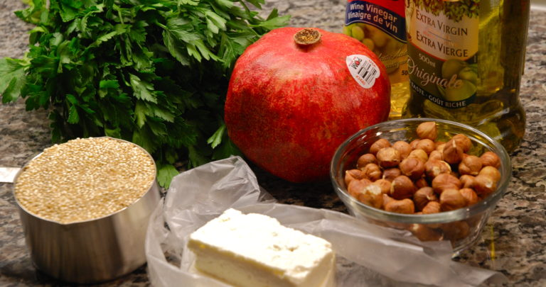 How to: Recipe Makeover – Seasonal Quinoa Salad