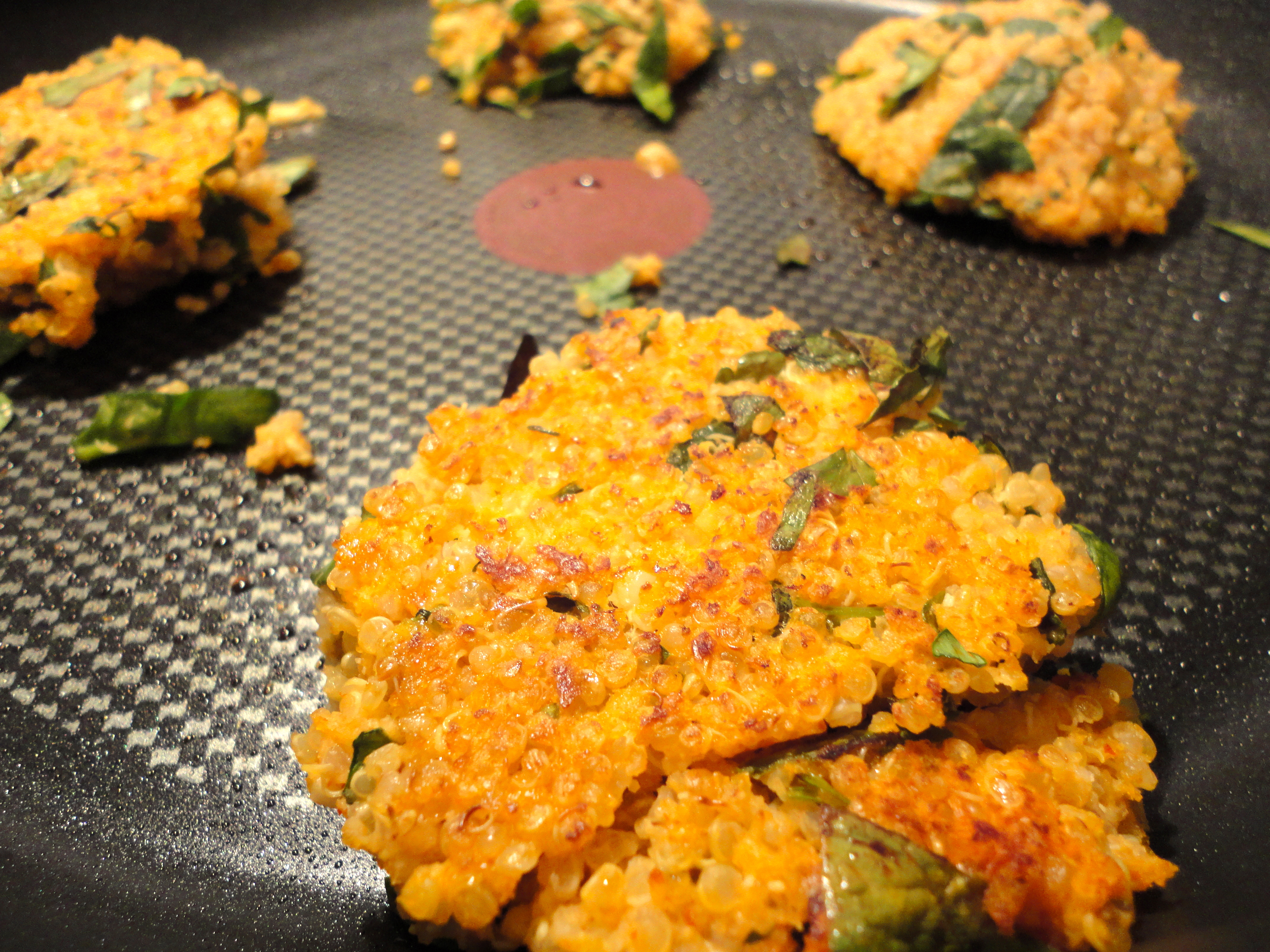 After A Quick Mix Together In One Large Bowl, The Quinoa Mixture Is Formed  Into Patties And Fried Up Until Nice And Golden Brown Store In Your  Fridge,