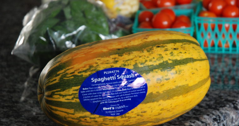How To: Recipe Makeover – Spaghetti Squash with Roasted Tomatoes and Basil