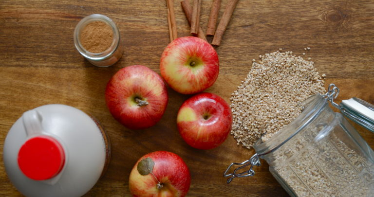 How to: Slow Cooker – Apple Cinnamon Steel Cut Oats