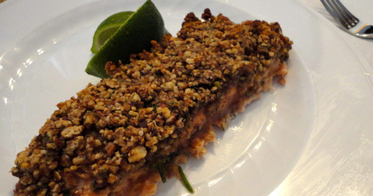 How To: Serve Fish For A Dinner Party – Pecan Lime Salmon