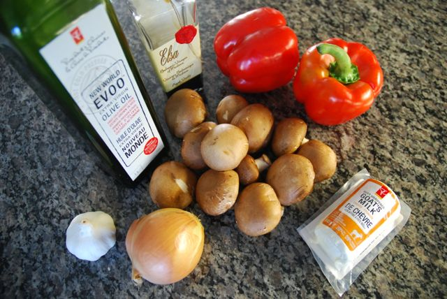 ingredients for stuffed peppers