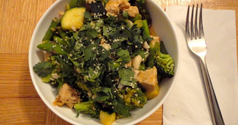 How To: Quickie Meal – Veggie Chicken Stir-Fry