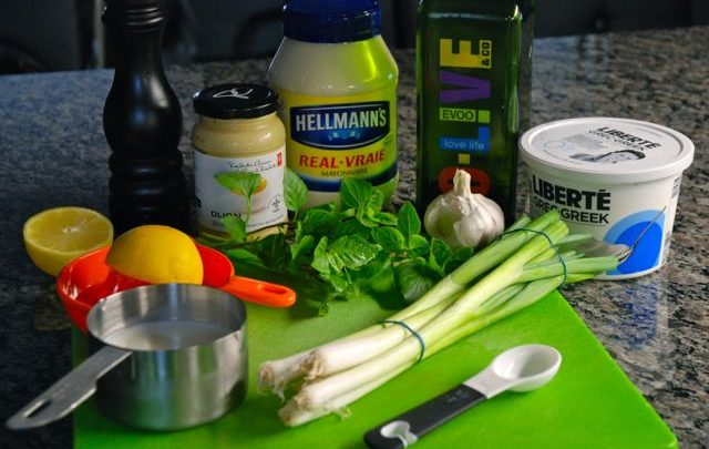 How to: Recipe Makeover – Creamy Buttermilk Herb Dressing