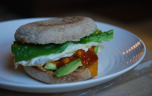 How to: Quickie Meal – 'Breakfast' Sandwiches