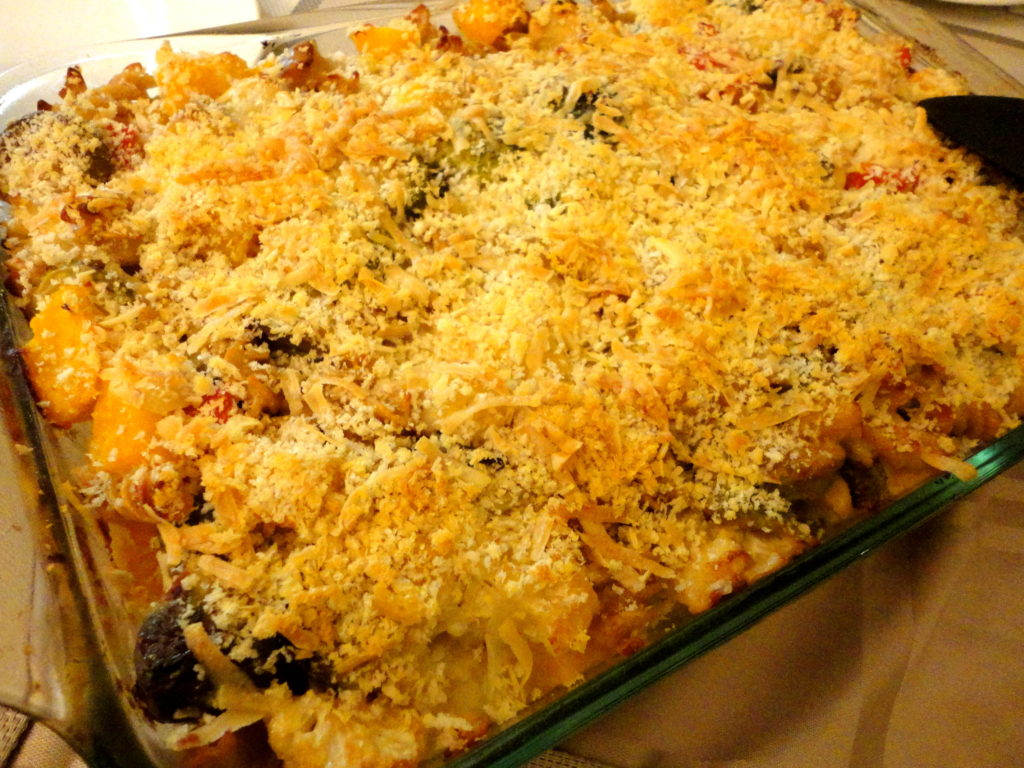 Roasted Veg Mac and Cheese