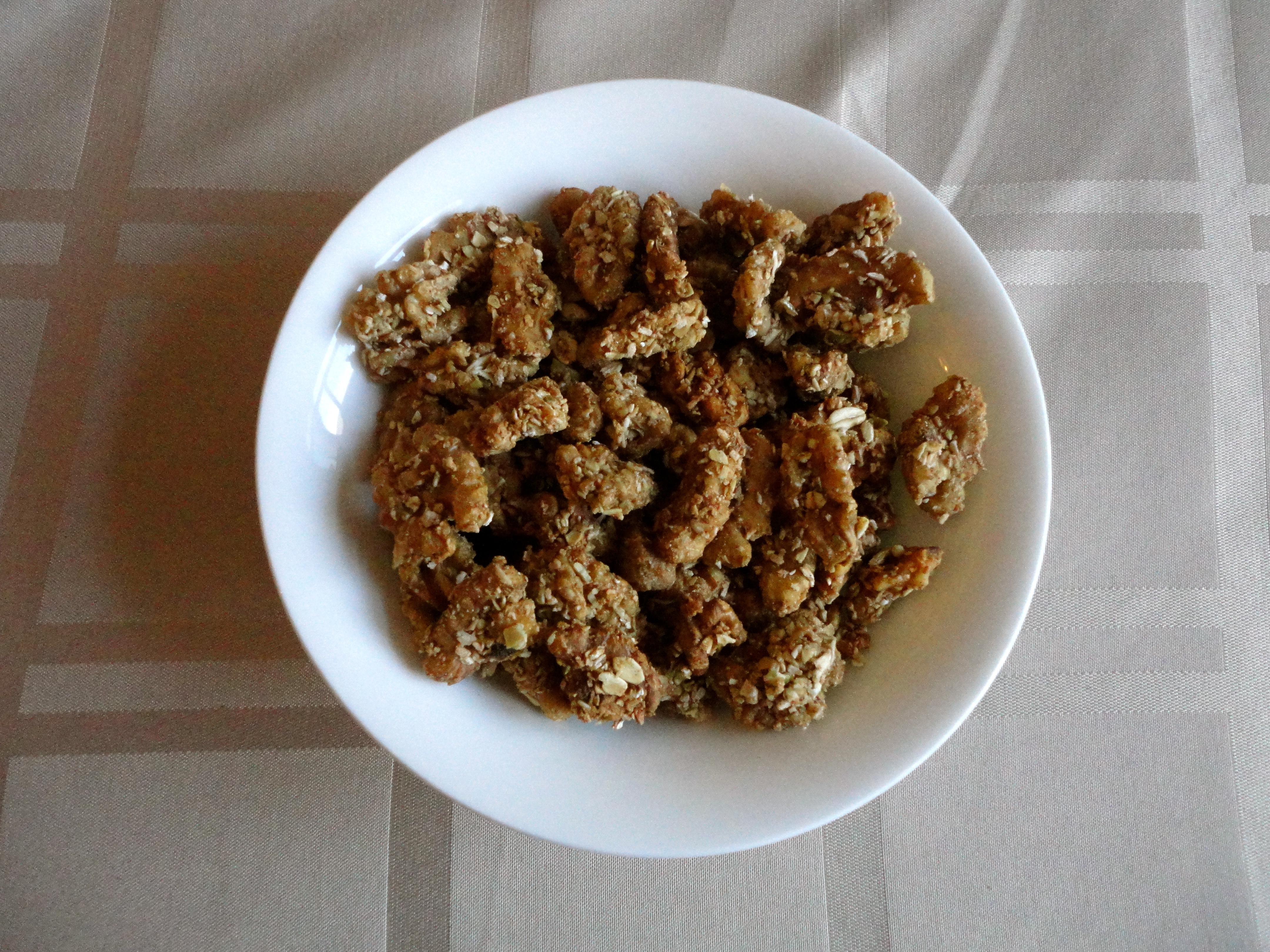 Granola-Crusted Nuts Recipes — Dishmaps