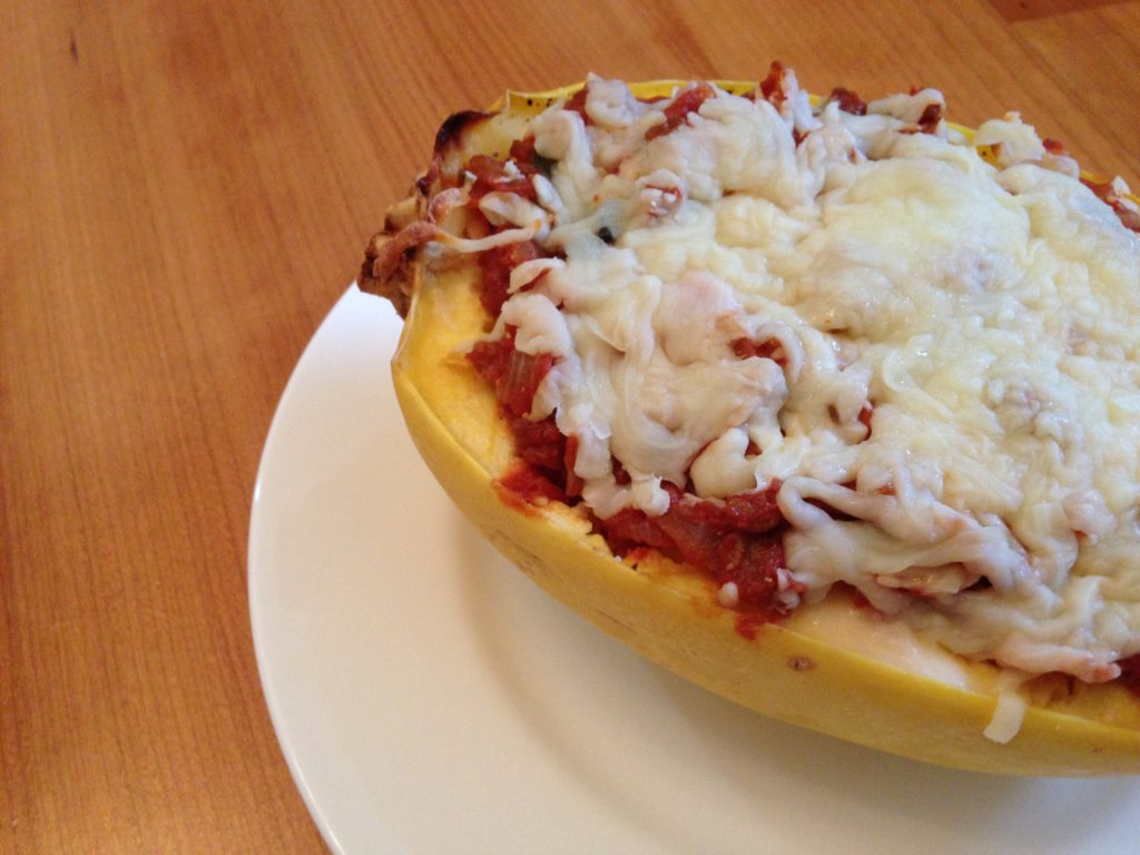... To: Recipe Makeover – Lasagna Stuffed Spaghetti Squash | How to Eat