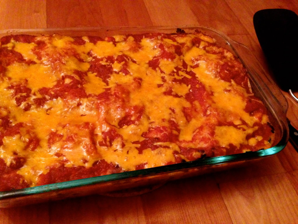 How To: Big Batch - Vegetarian Enchilada Casserole - How to Eat