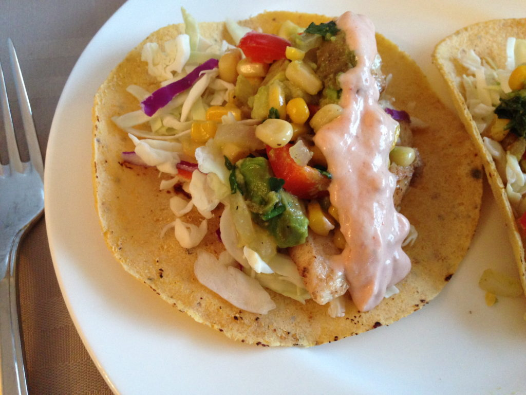 ... To: Quickie Meal – Fish Tacos with Roasted Corn Relish | How to Eat