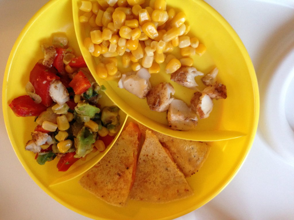 ... To: Quickie Meal - Fish Tacos with Roasted Corn Relish - How to Eat
