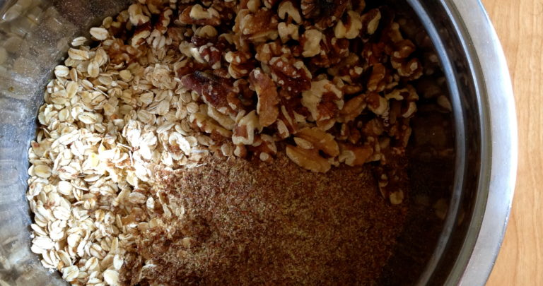 How To: Make Your Own Granola – Cranberry and Walnut Maple Granola