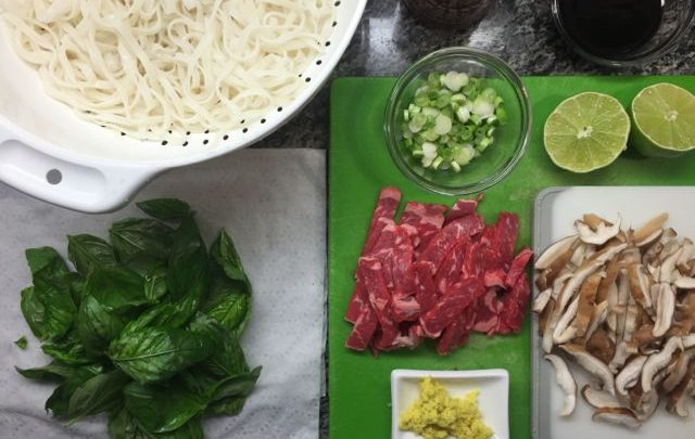 How to: Quickie Meal – Asian Beef Noodle Soup