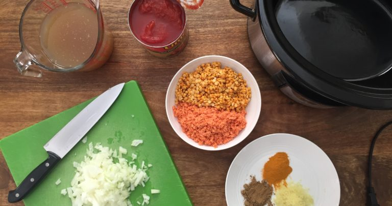 How to: Slow Cooker – Daal