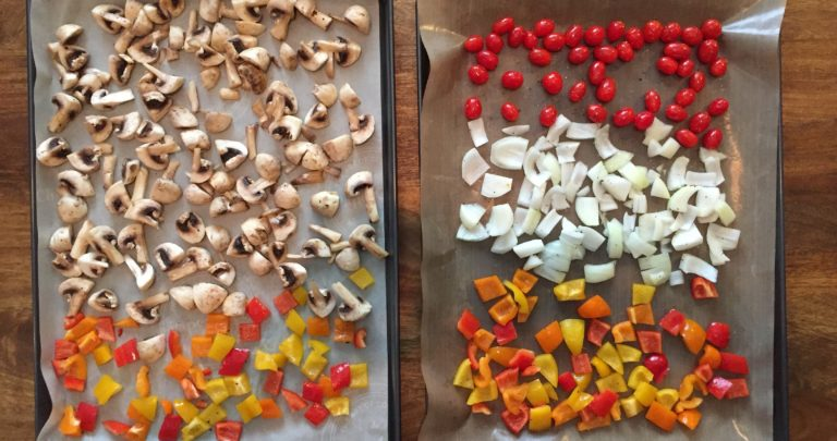 How to: Make Your Own – Roasted Vegetable and Hummus Galette