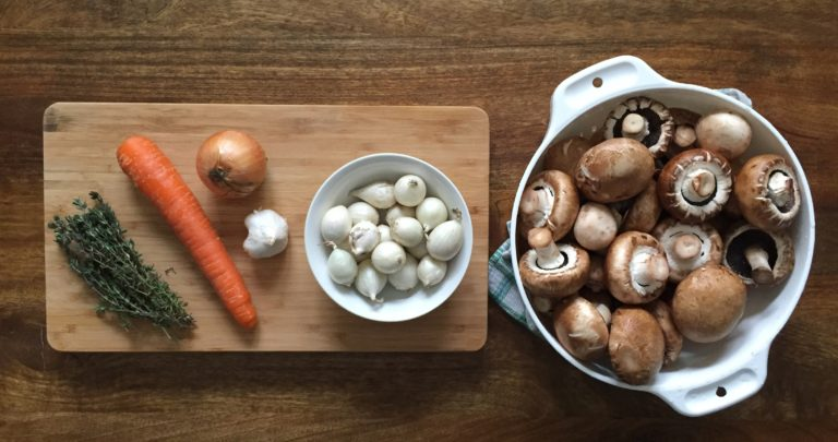 How to: Make your Own Mushroom Bourguignon