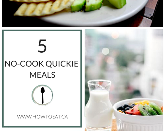 How to: Our Top 5-Minute Quickie Meals (and Facebook Live Demo)