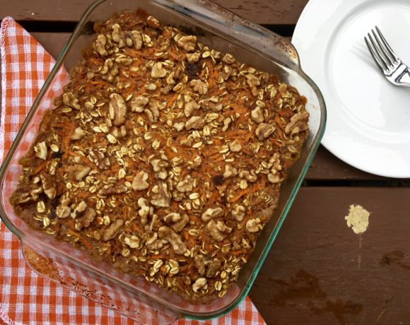 How To: Healthy Breakfast – Carrot Cake Baked Oatmeal