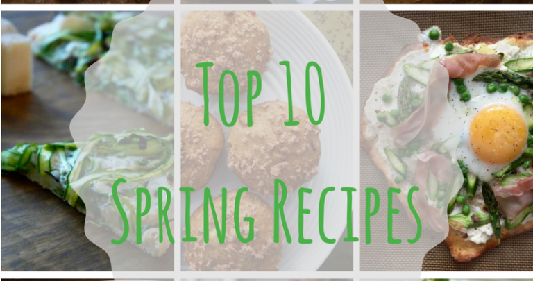 Top 10 Spring Recipes