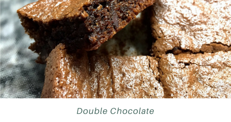 Double Chocolate Tahini Brownies