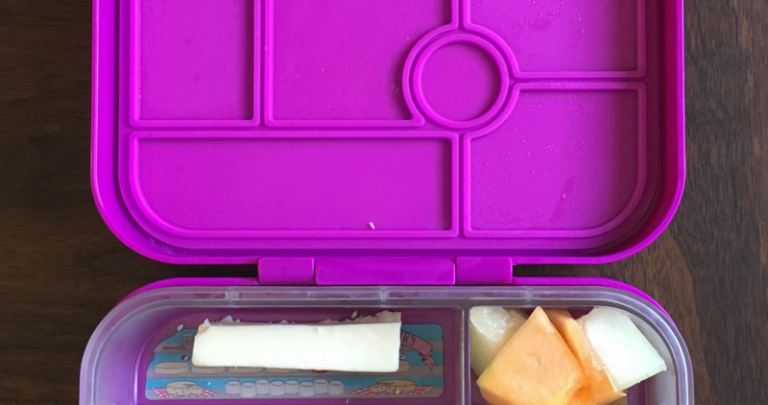 How I Learned To Relax About My Daughter's School Lunch
