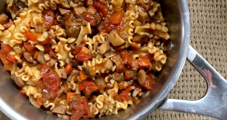 The Meatiest Vegetarian Bolognese