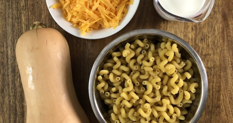 The Easiest Weeknight Butternut Squash Mac and Cheese