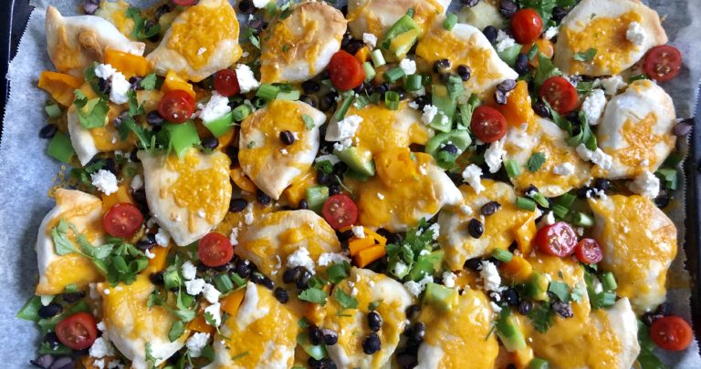 Fully Loaded Pierogy Nachos